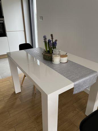 Stół biały lakierowany - rozkładany