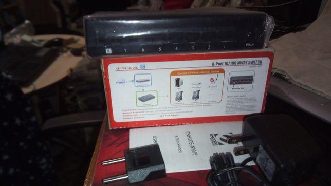 Сетевой коммутатор Encore ENH908-NWY 8 Port Nway Switch