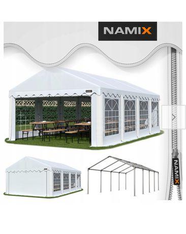Namiot imprezowy, ogrodowy, biesiadny.Wymiary5m x8m wynajem wolny9 maj