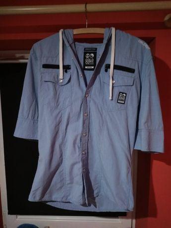 Bluzka koszula z krótkim rękawem