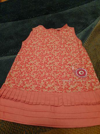Różowa sukienka Catimini w rozmiarze 68