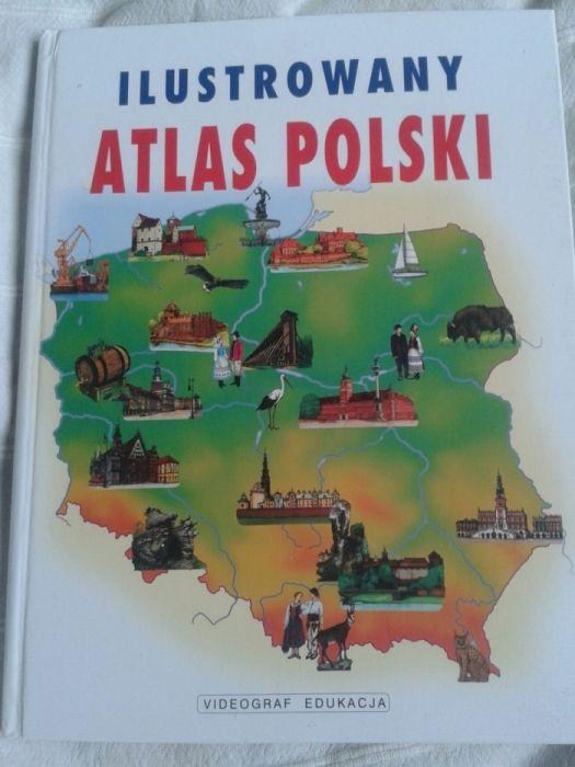 Ilustrowany atlas Polski Warszawa - image 1