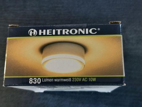 Oprawa do nabudowania Heitronic LED 10 W biały ciepły biały