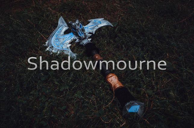 Легендарный топор «Shadowmourne» из «World of Warcraft» своими руками