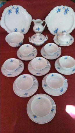 Serviço de chá Vista Alegre 1924/46 (8 pessoas)