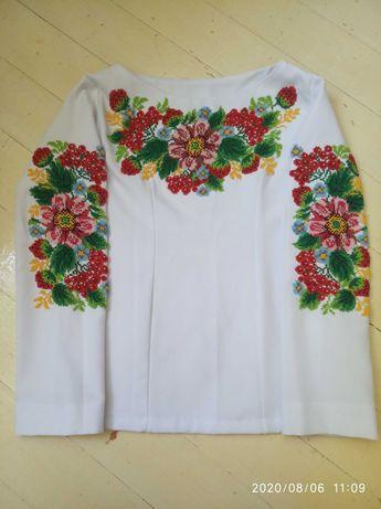 Вишиванка бісер вышиванка бисер  S вышивка вишивка рубашка сорочка