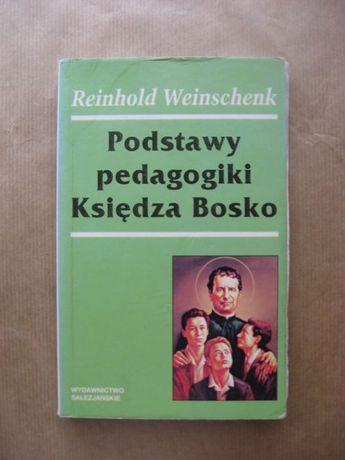 książka Podstawy pedagogiki księdza Bosko