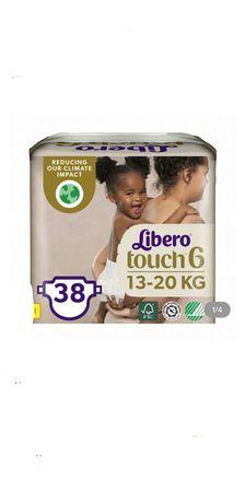 Подгузники Libero Touch р. 6 (13-20 кг), 38 шт