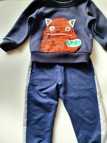 Dres spodnie bluza 80