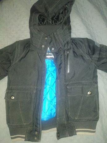 Курточка зимняя на мальчика 116 от 5 лет