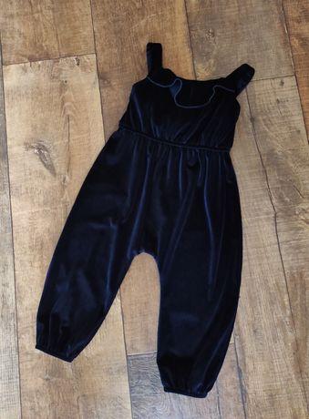 Комбинезон детский 80-86см для девочки дівчинки 1-1½ нарядный штаны