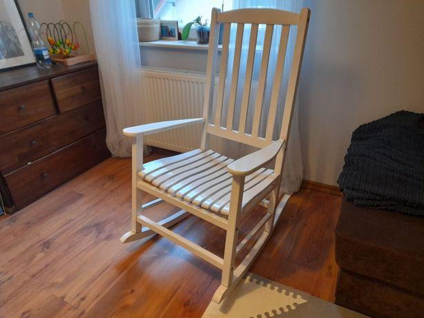 FOTEL BUJANY, pokojowy ogrodowy, krzesło bujane na taras do salonu