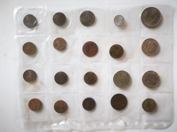 Conjunto de 20 moedas portuguesas antigas