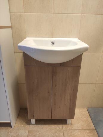 Szafka łazienkowa z umywalką umywalka 40x50