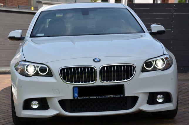 BMW 520D 2015 r. pełny serwis do końca faktura 23%