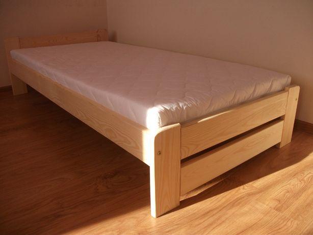 NOWE Łóżka sosnowe z materacem14 90x200 NAJTANIEJ Wysyłka, inne wymiar