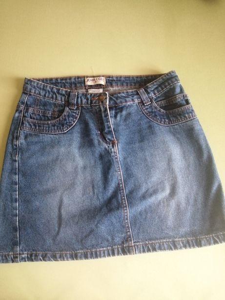Spódniczka jeans 38