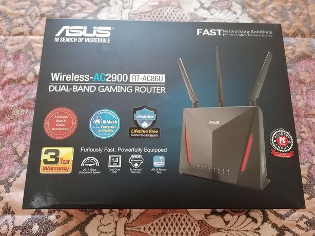 Router AiMesh Asus RT-AC86U Gaming Wi-Fi AC2900 Dual-band