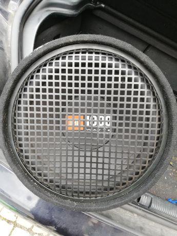 Subwoofer JBL 1000W e amplificador