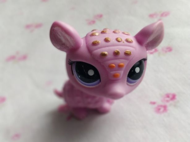 Littlest Pet Shop - LPS - Hasbro - Różowy pancernik