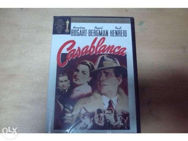dvd original casablanca 3 ediçoes