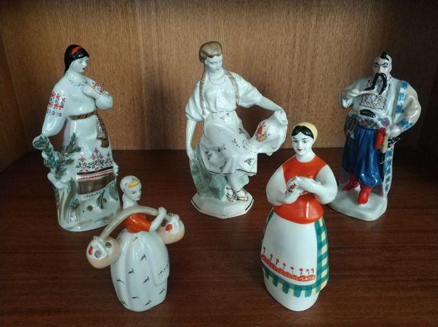 Фарфорові статуетки радянського періоду виробництва