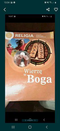 Książka  do religi  klasa  5 + gratis