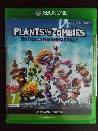 Plants vs zoombies xbox one