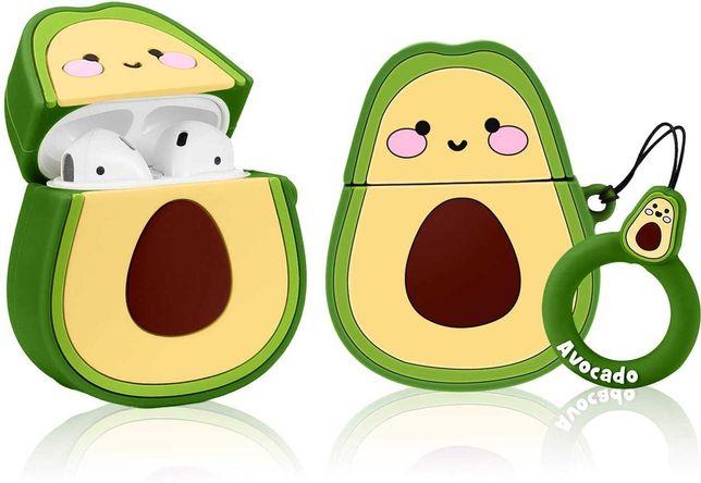 NOWE Etui na słuchawki do Apple AirPods 1/2 Avocado S5