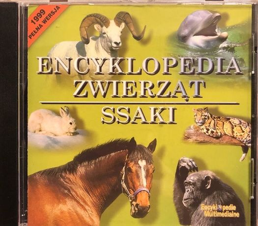 Encyklopedia Zwierząt - Ssaki CD-ROM