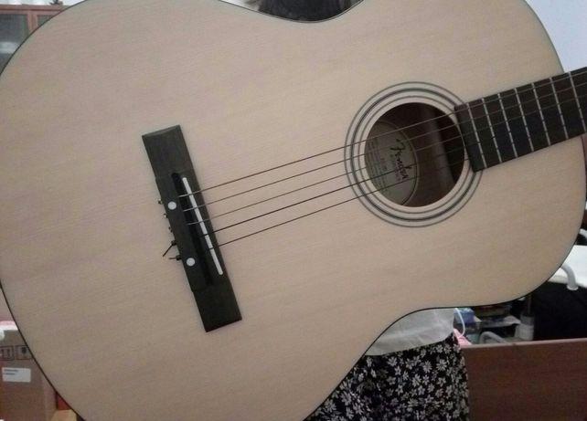 Gitara klasyczna Fender + struny Gratis