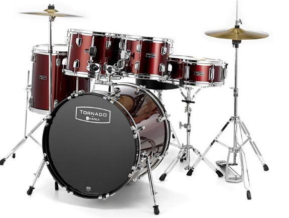 Nowa perkusja zestaw perkusyjny Mapex z talerzami stołek Pszczyna