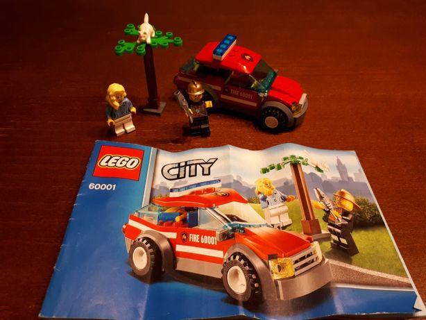 """Lego City 60001 - """"Fire Chief Car"""""""