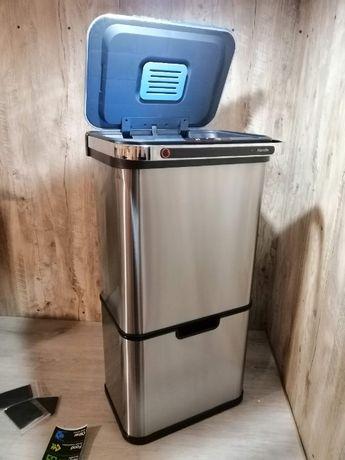 Безконтактний смітник 60 л., бесконтактный мусорник Klarstein Sensor
