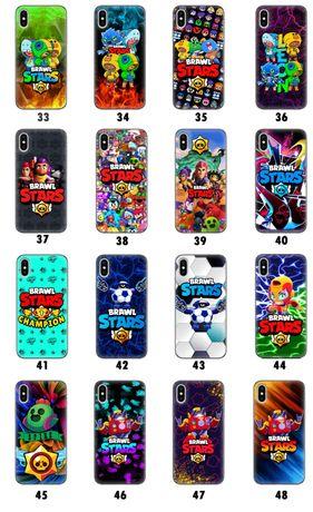Чехол Brawl stars бравл срарс на Xiaomi Meizu iPhone Samsung Honor т.д