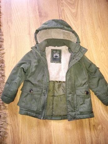 kurtka zimowa dla chłopca rozmiar 104