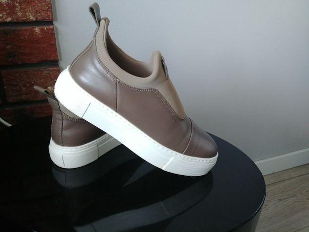 Marco Polo 37- skórzane sneakersy