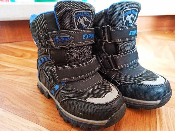 Термоботинки Tom M   зимові ботінки  зимние сапоги для мальчика