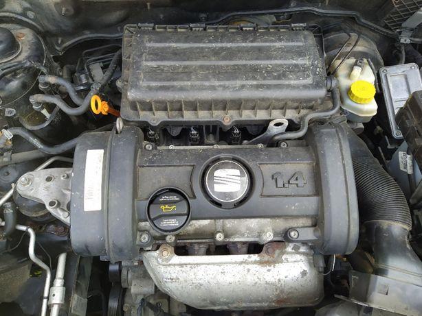 Silnik Skoda Fabia II ibiza 3 roomster 1.4 16V 85KM 07-14 35tyś BXW