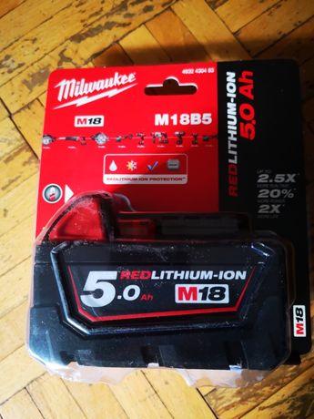 Akumulator Milwaukee M18B5