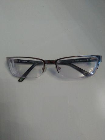 Итальянская оправа с линзами -7.5 очки