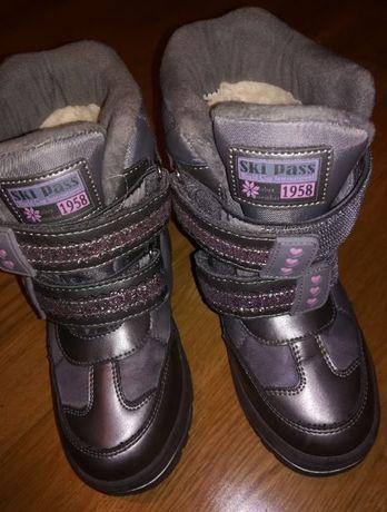 Зимние ботинки, зимові чобітки