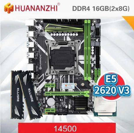 Сборка под пк HUANANZHI X99-8M+2620v3+2x8 ddr4 2133