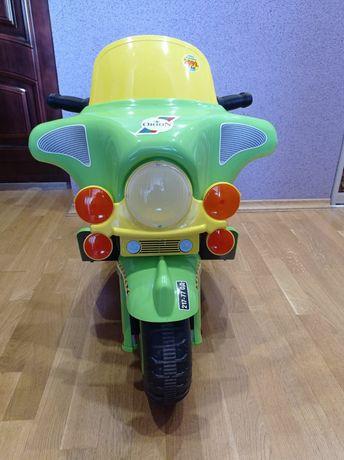 Мотоцикл дитячий електромобіль