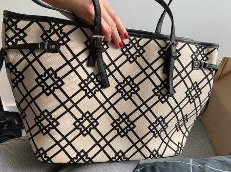Markowa torba SPARTINA torebka z portfelem, A4 pojemna, nieużywana.