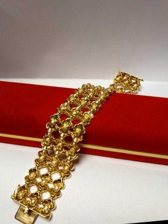 Złota bransoleta pr.750/48,8g/19cm Lombard Zeus