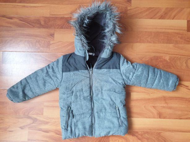 kurtka zimowa ocieplana dziewczynka/chłopiec unisex 98 - 104 cm
