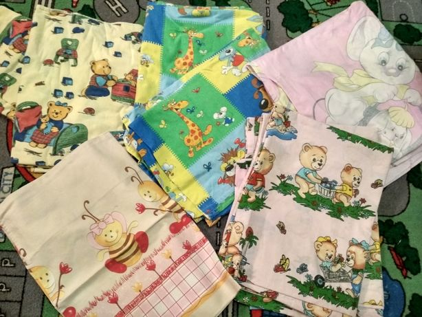 Постельное белье для детской кроватки
