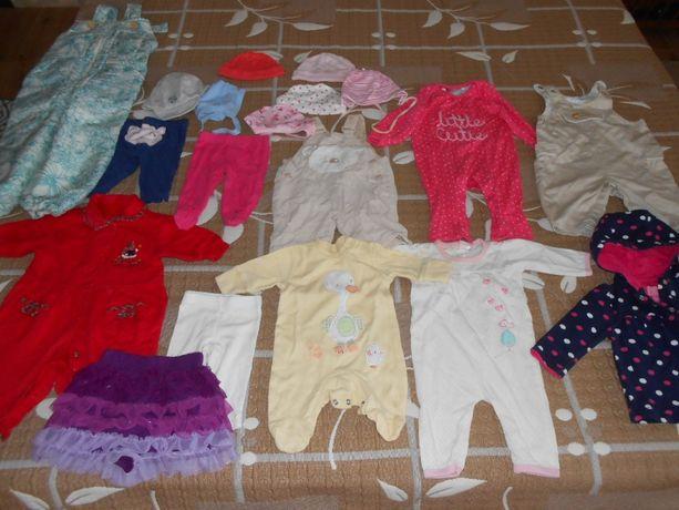 Пакет одежды для девочки 0-3 месяцев Carters