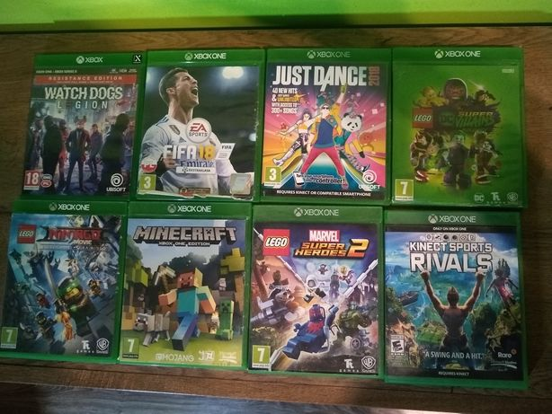 Gry Xbox one 100% sprawne